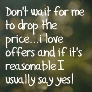 Other - Offers are accepted...